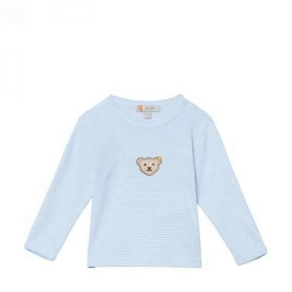 Steiff T-shirt in blau Gr: 80