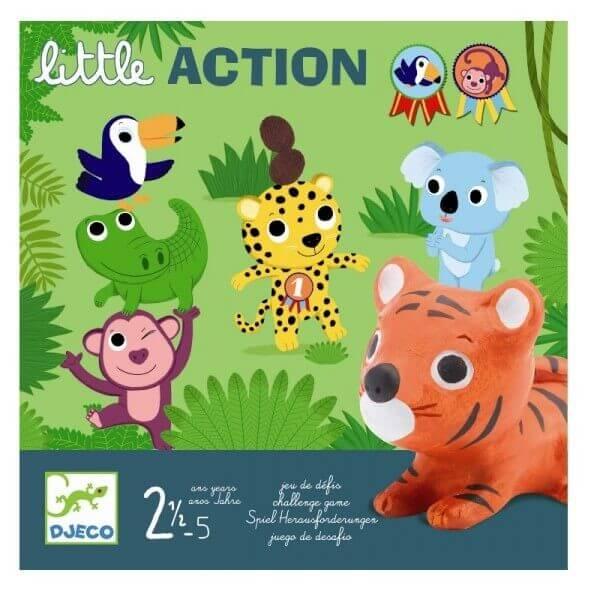 Djeco Kleinkindspiel Lernspiel Little Action