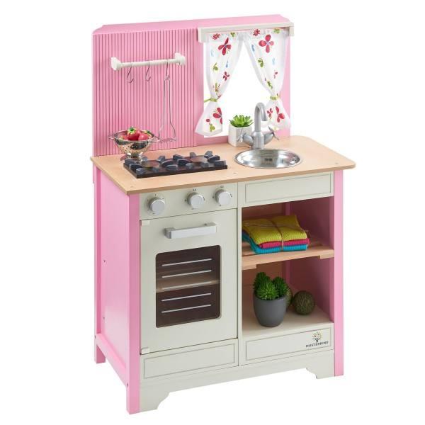 MUSTERKIND® Spielküche Lavandula Creme/Rosa